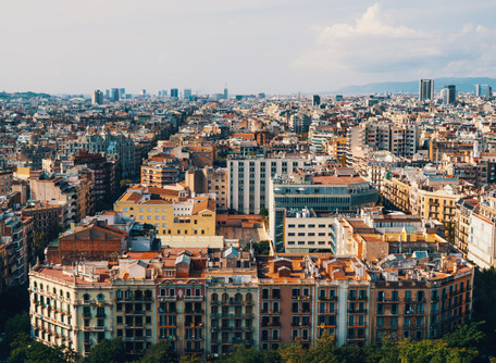 Barcelona, high density housing doesn't mean high rise!