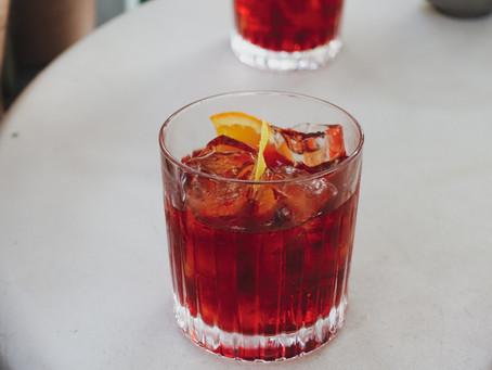 Raspberry Cider Whisky Cocktail