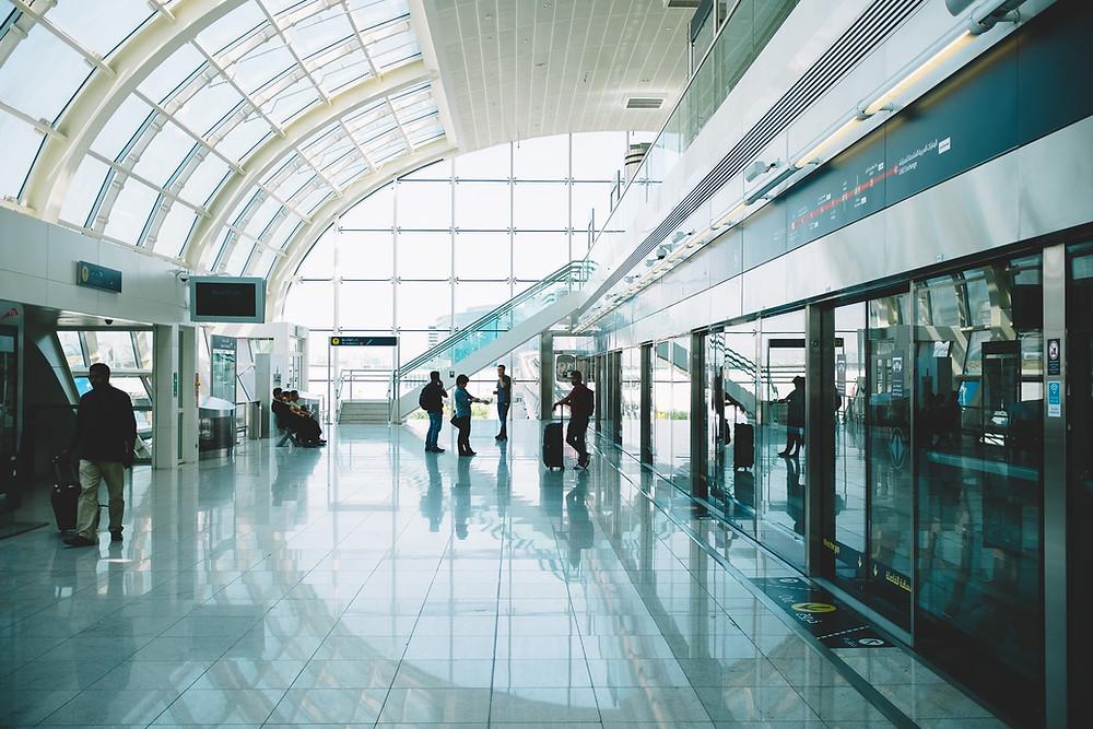Aeropuertos por número de pasajeros 2019