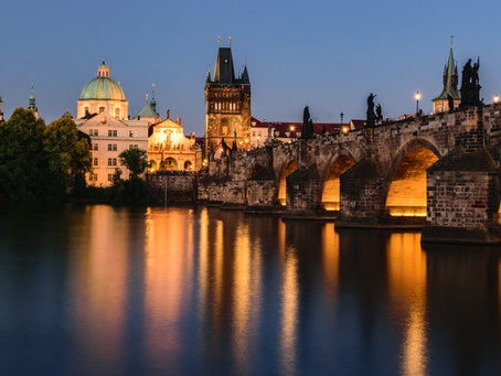 Historic city of Prague
