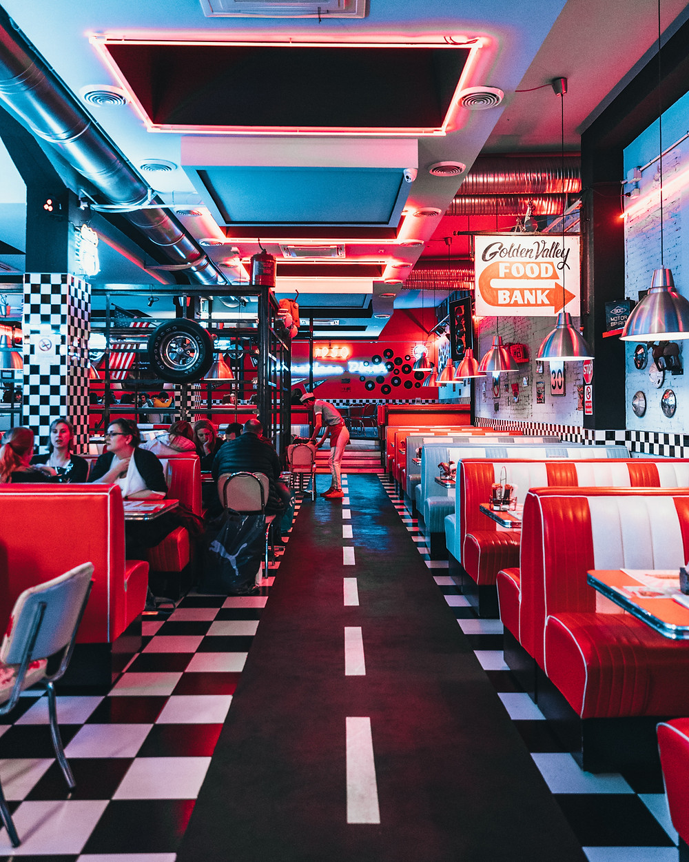 Designer Restaurant Floor