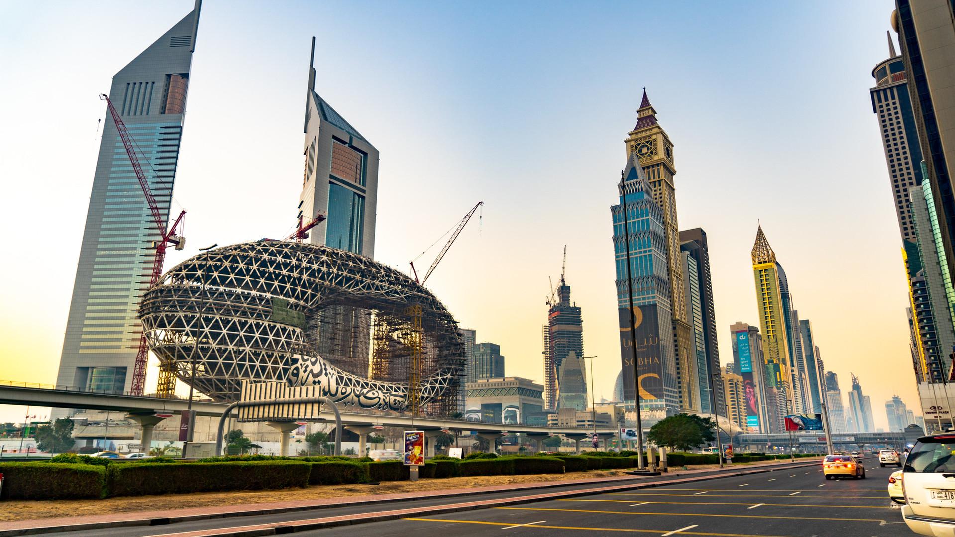 The Eye -Dubai