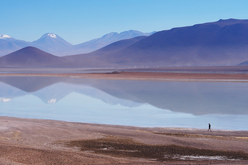 Ascension Volcans Lipez Bolivie