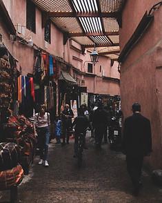 Mercado, Medina, Marrakech