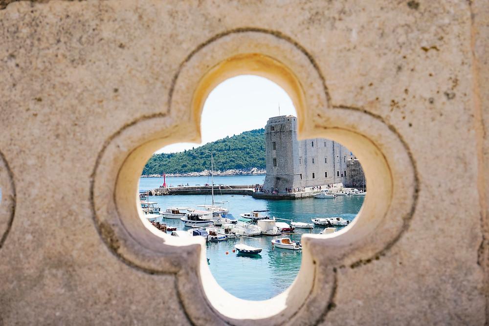 הנמל העתיק של דוברובניק