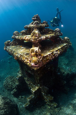 The museums beneath the waves