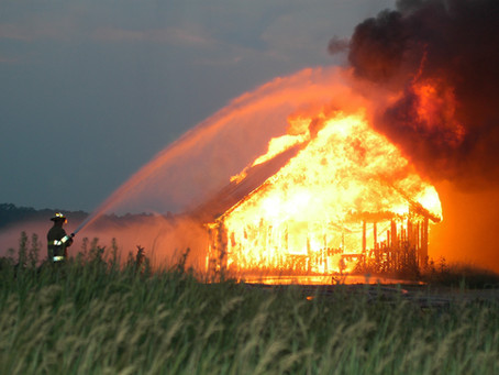Are You Mowing the Lawn While the House is on Fire?