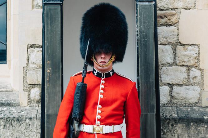 Guard duty in London