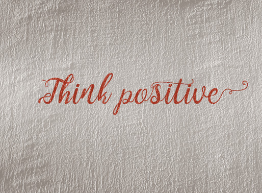 Just One Small Positive Thought in the Morning Can Set the Tone for your Day.