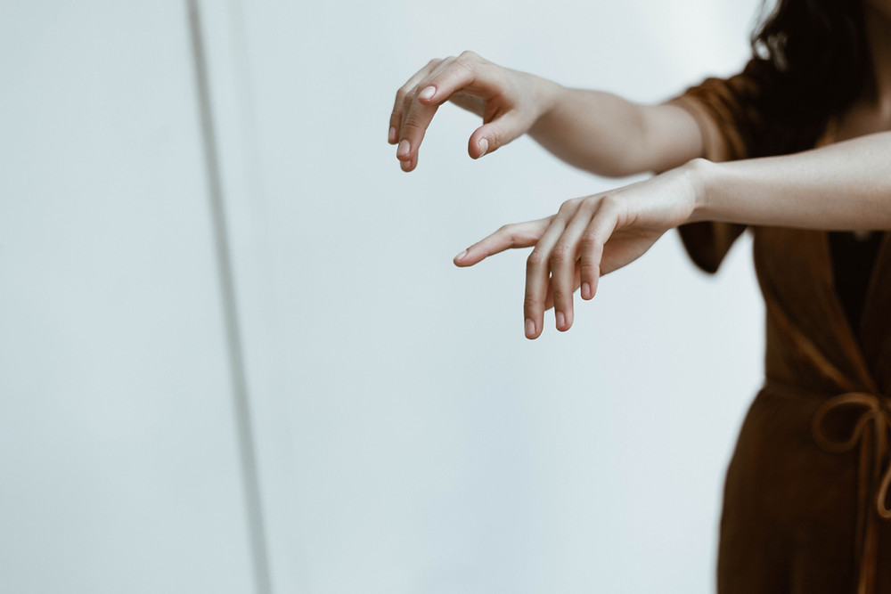 Hands: the main character in this play