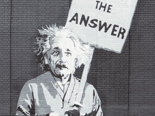 """"""" On ne règle pas les problèmes avec ceux qui les ont créés """" : A. Einstein"""