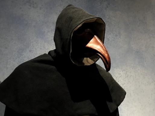 A peste bubônica e o famoso uniforme estranho