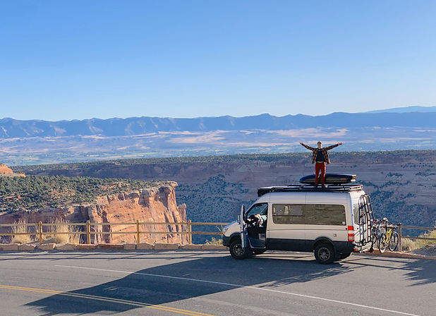 #vanlife adventure customs custom van interior custom van exterior