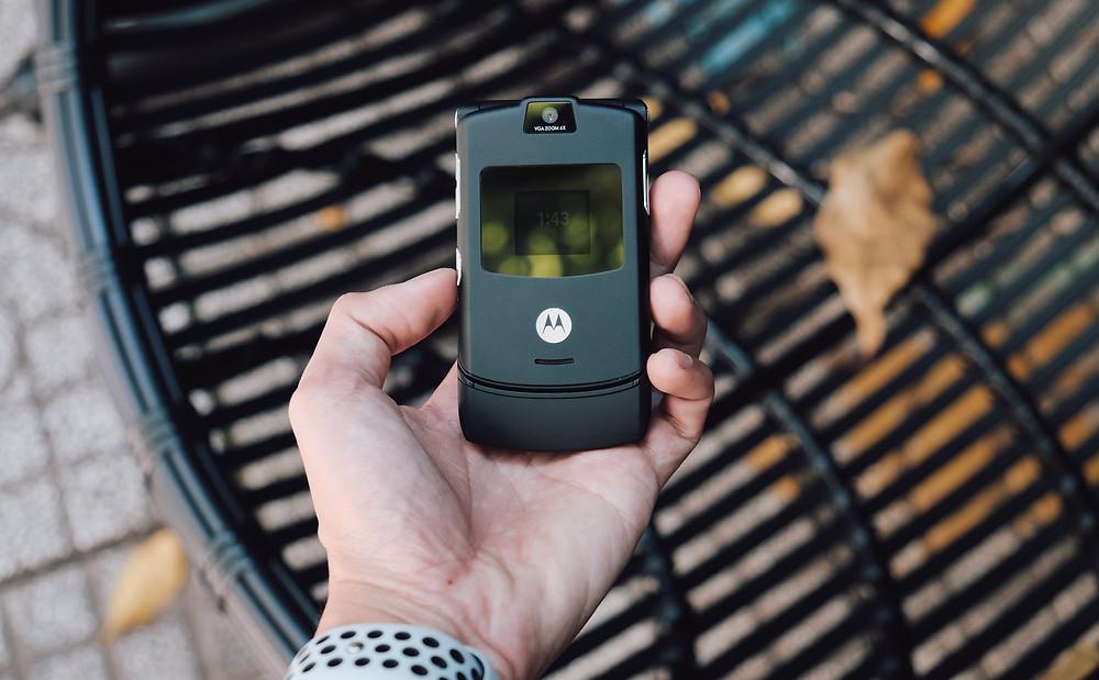 Motorola Razor, Zillennial life