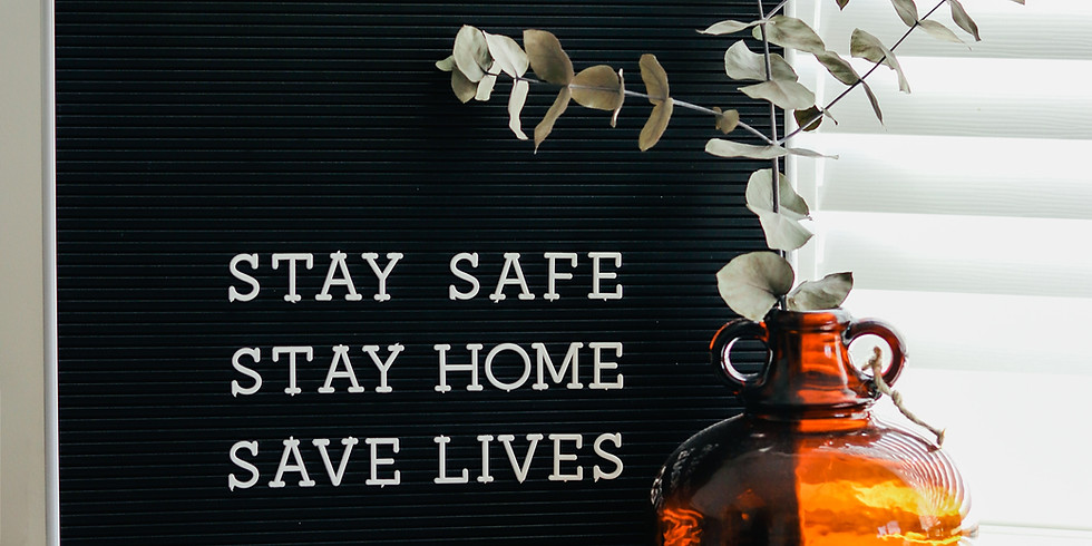 We are in this with you.  Wishing you health, safety, and cherished time.