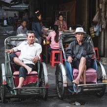 Cyclo Driver in Phnom Pehn