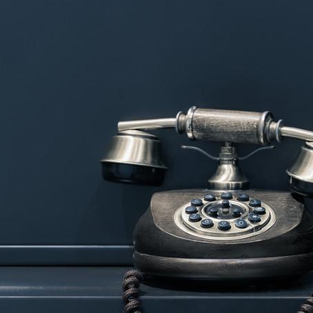 Ring ring....