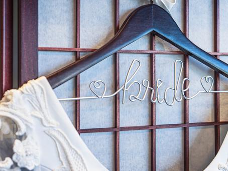 Create Your Own DIY Wedding Hangers