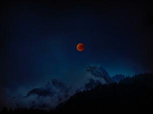 Lunar Eclipse in Capricorn/ Purva Ashadha