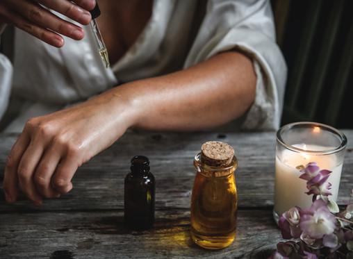 Aceites esenciales para cosméticos caseros