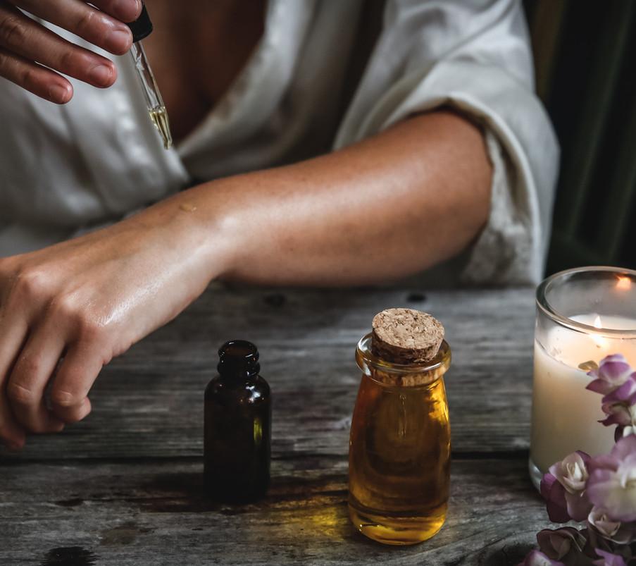 Workshop essential oils