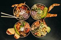wakaya poke bar comer salamanca cenar ávila eventos catering empresas