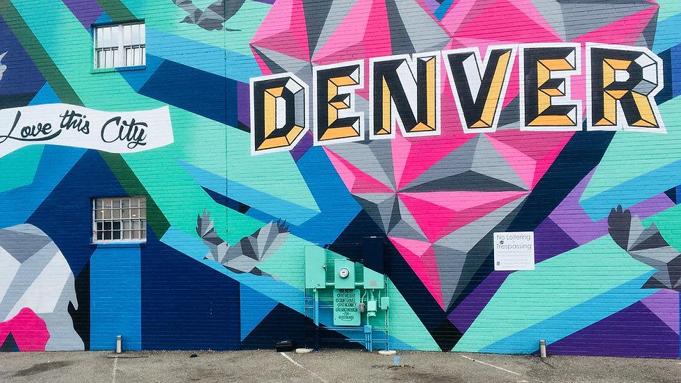 Graffitti Art of Denver Image by Pieter van de Sande