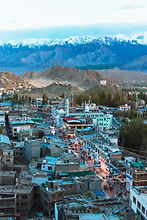 Leh City with Motorcycle Escapades