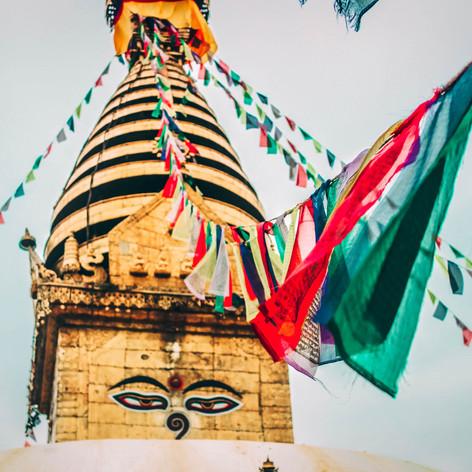 monkey temple kathmandou