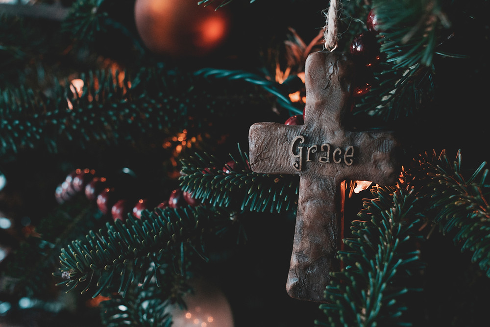 The cross gave us grace and justification by faith.