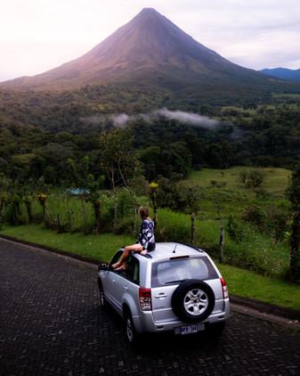 Volcan Arenal, photo de trail