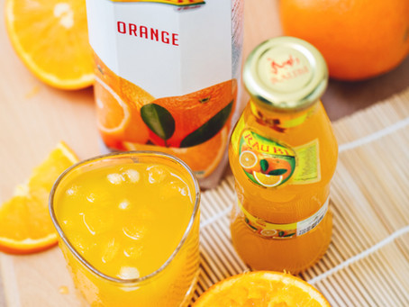 FRUIT JUICE & SUGARY DRINKS LINKED TO INCREASED CANCER RISK