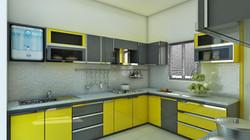 Moderne Küche nach Wunsch