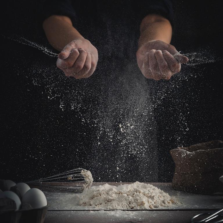 #evdekal Kouzina Seminerleri   9.Seminer  Pirinçli Enginar+Kuzina Köfte+Caciki+Kremalı Kadayıf