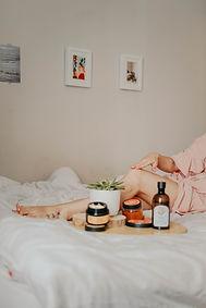 Massage med olja - bild