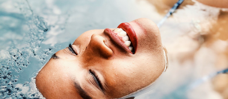 Don't get your brows wet after treatment!