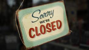 We're closing :(