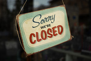 Closed for the unforseeable future