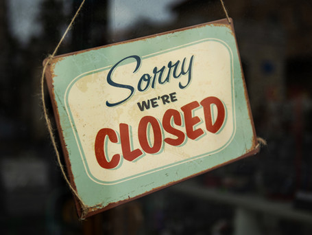 Thrift Store Closure extended