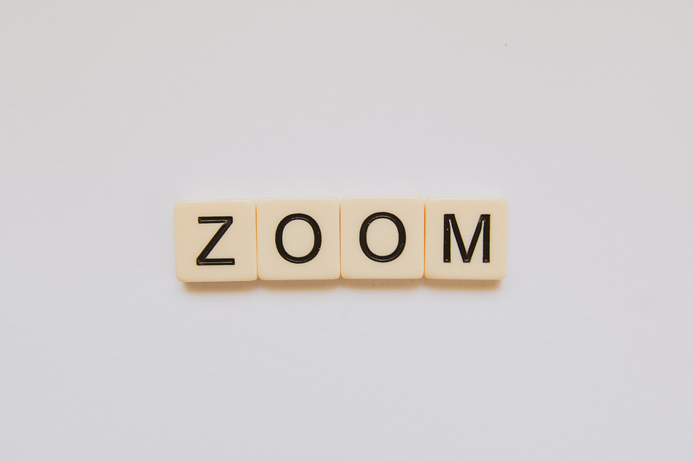 "The word ""ZOOM"""