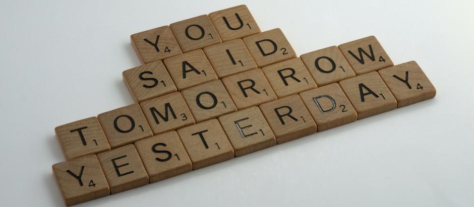 ¡Ponle fin a tu procrastinación!