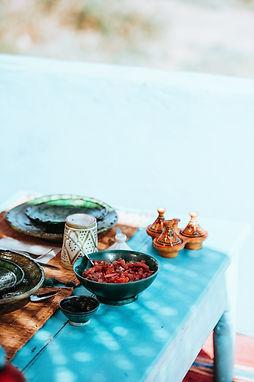 Moroccan Chicken Tajine with Apricots