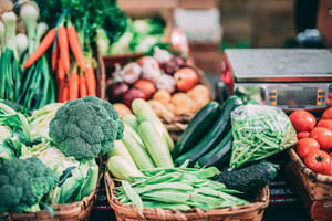 Choosing a weekly CSA box