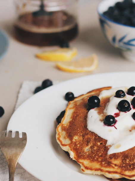 Recept: Healthy Pancakes