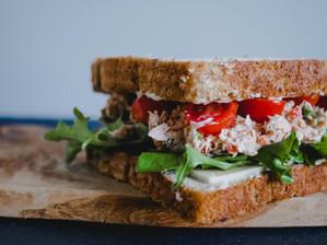 5 recetas saludables de sándwiches para llevar a la playa