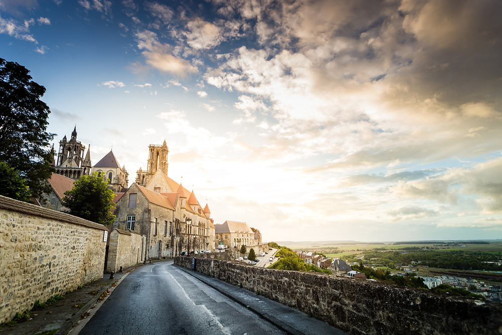 town of Laon, a wonderful off the beaten path day trip from Paris