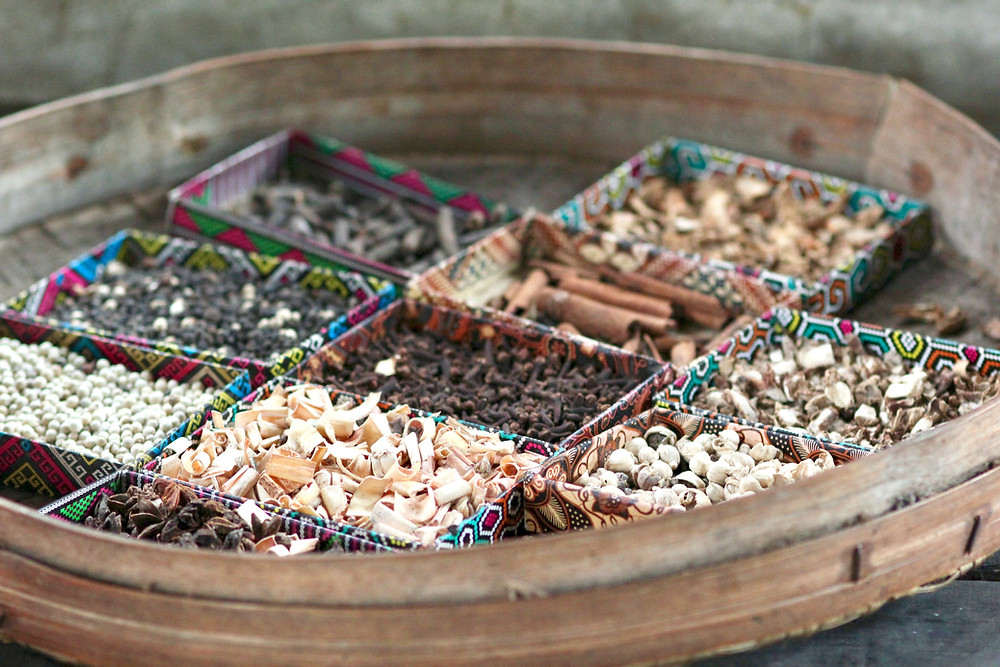 different herbs used for herbal medicine and cooking