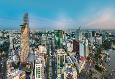 Metroploitan Saigon in Vietnam