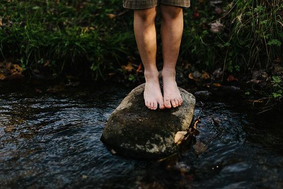 River Stone Foot Rub