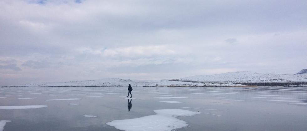 Frozen Lake Cildir